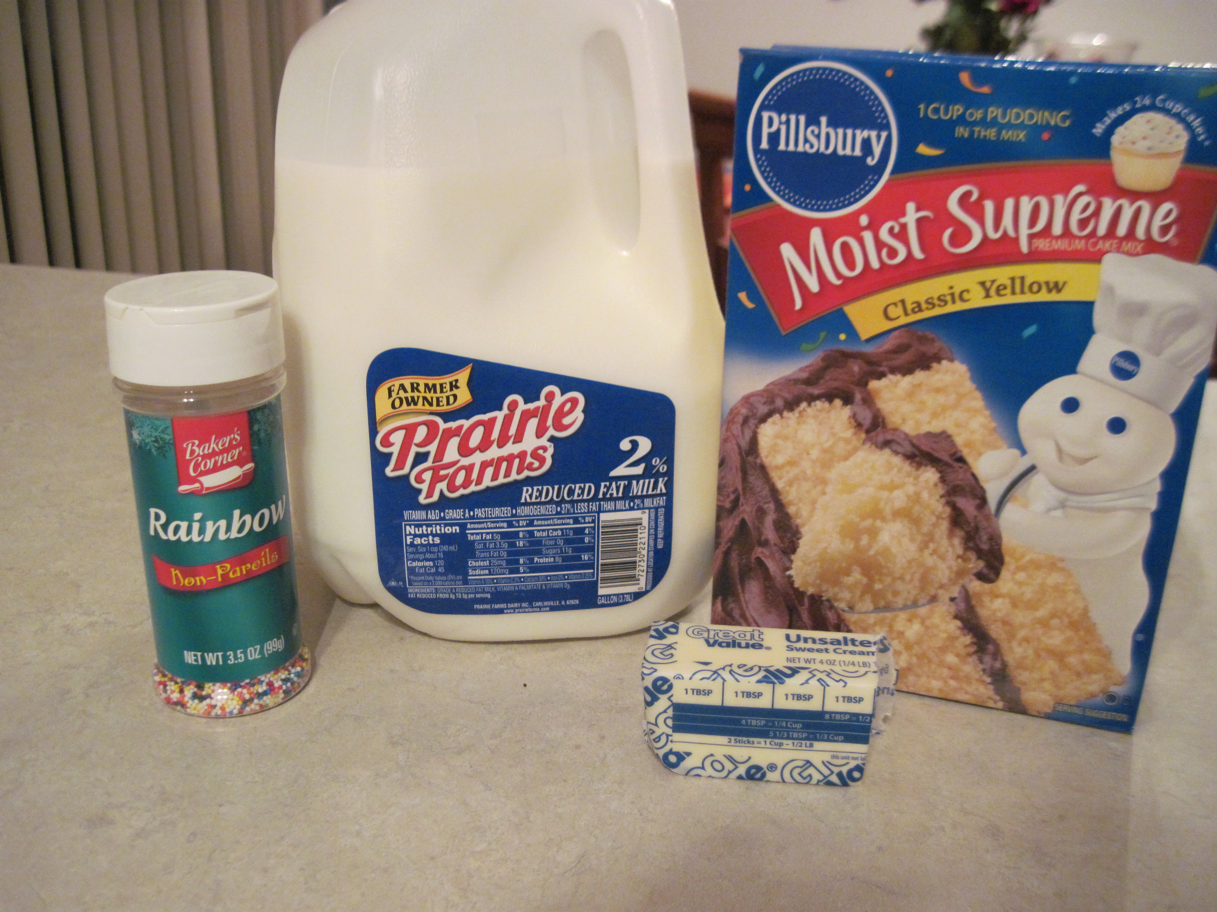 Edible Cake Images Ingredients : Edible Cake Batter Cookie Dough Almost Super Mom